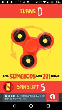 The Best Fidget Spinner poster