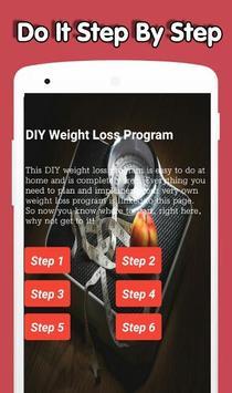 DIY Weight Loss Program poster