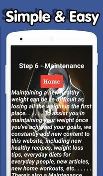 DIY Weight Loss Program apk screenshot