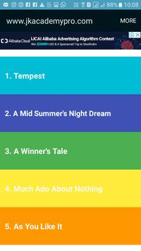 Shakespeare for Young Readers screenshot 1