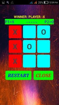 Fun Tic Tac Toe Game for Two Players apk screenshot