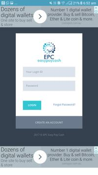 Epc wallet screenshot 1