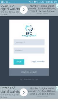 Epc wallet screenshot 1
