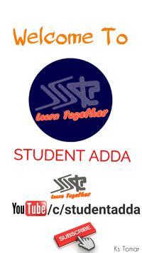 STUDENT ADDA poster