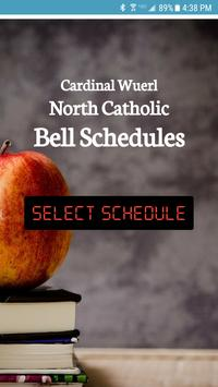 North Catholic Bell Schedule App poster