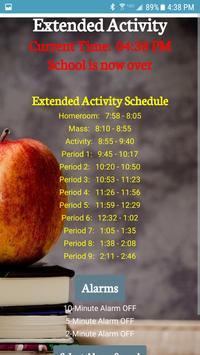 North Catholic Bell Schedule App screenshot 2