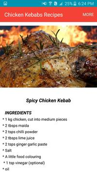 Chicken Kebabs Recipes 2018 screenshot 2