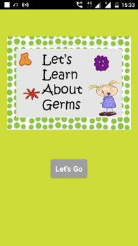 Learn About Germs poster