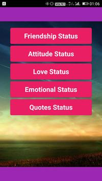Status for Whatsapp poster