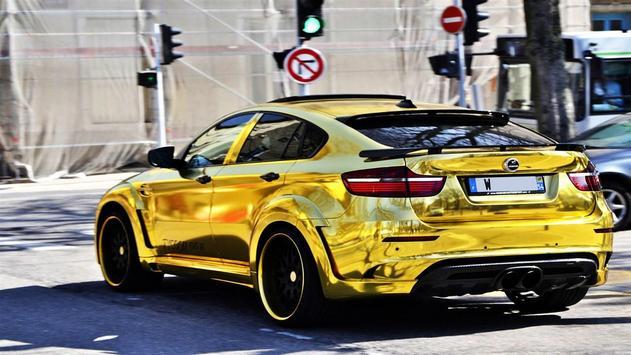 Gold Cars Wallpapers HD screenshot 5