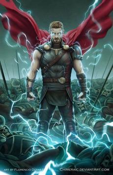 Superhero Thor Wallpaper HD Poster