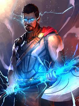 Superhero Thor Wallpaper HD Screenshot 6