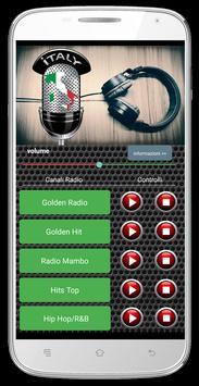 Radio Italy Online Music apk screenshot