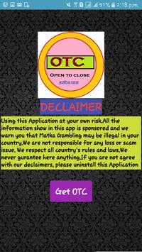 OTC poster