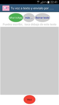 Voz a Texto screenshot 1