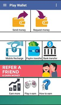 Play Wallet (Earn paytm cash) screenshot 2