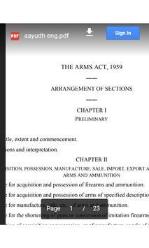 Arms Act apk screenshot
