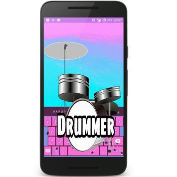 Drummer poster