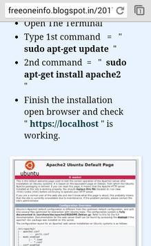 Linux Learn - My Blog apk screenshot