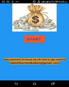 FREE COSH MONEY poster
