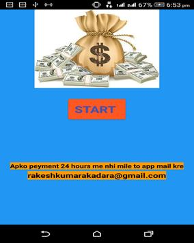 FREE CASH poster