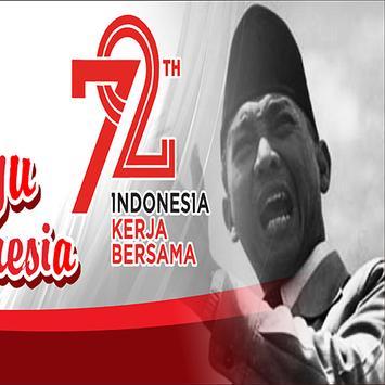 disain banner kemerdekaan poster