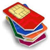 Mobile sim to Aadhar icon