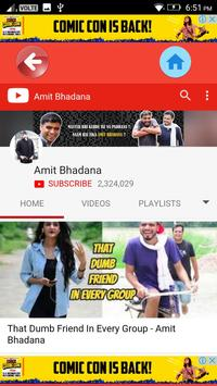Amit Bhadana Funny Videos screenshot 1