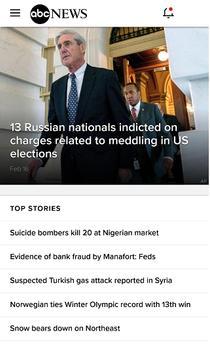 MSNBC FOX CBS CNN ABC NBC News screenshot 2
