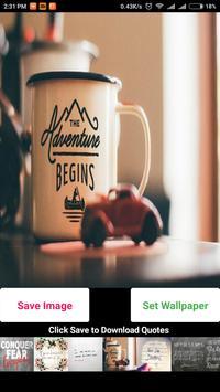 Download Life Changing Quotes WallPapers & Set apk screenshot