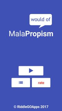 MalaPropism poster