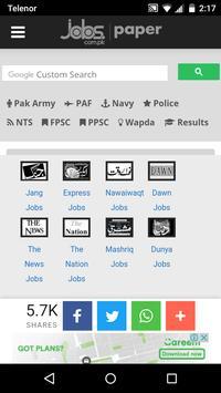 Pakistan Jobs poster