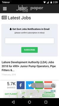 Pakistan Jobs screenshot 5