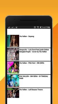 Video lagu Via Vallen koplo dangdut poster