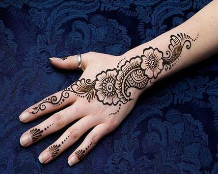 Henna Tattoo Art Design poster