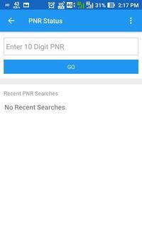 Rail Seva-PNR enquiry,Train status and more screenshot 7
