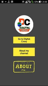 Digital Crony screenshot 3