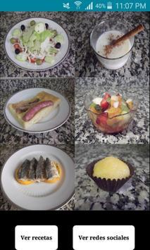 Recetas de cocina española screenshot 3