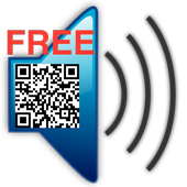 Talking QR-Reader (free) icon