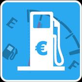 CC Spritrechner- Benzinkosten einfach berechnen icon