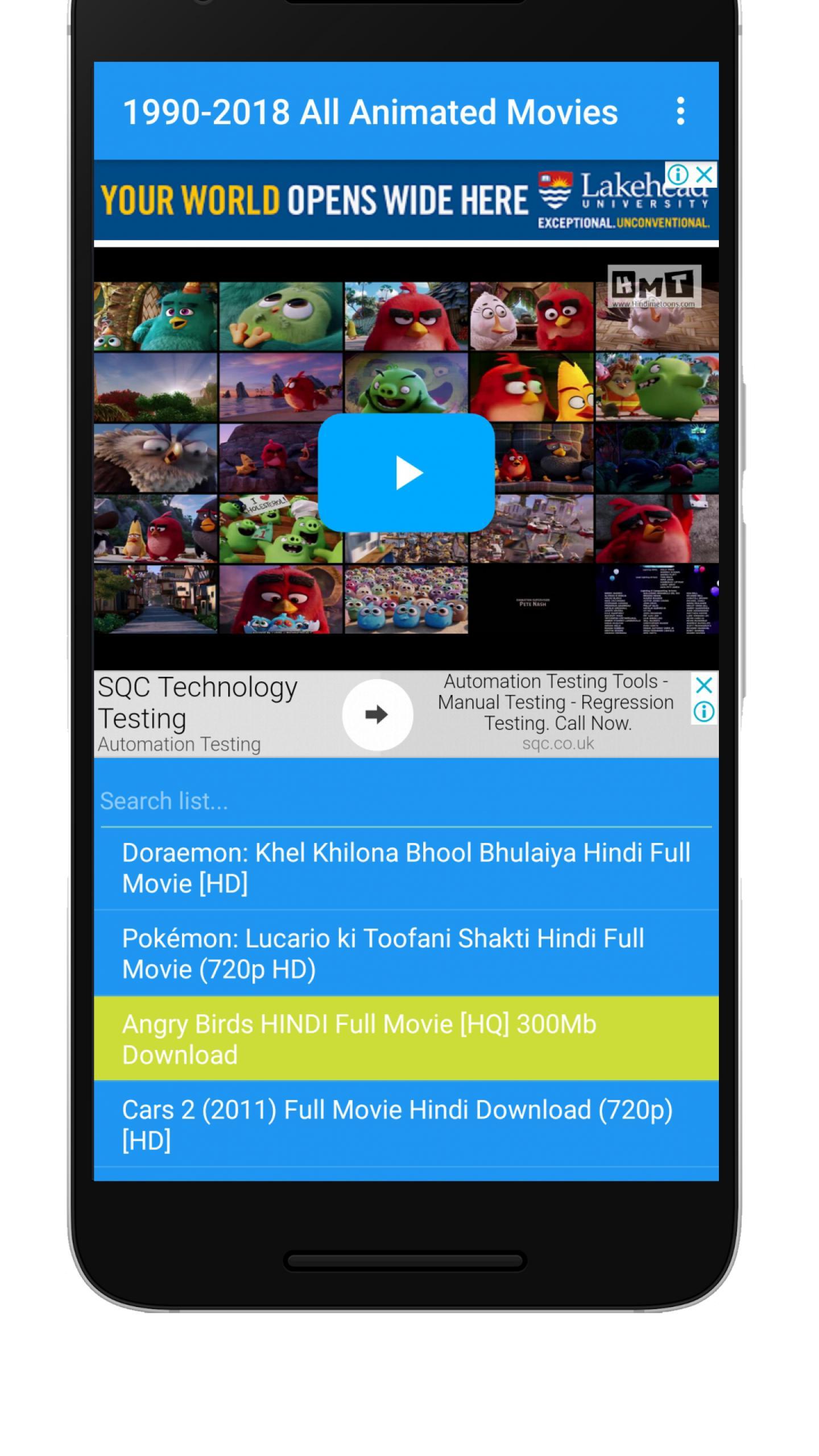 Hindi Cartoon Movies 1990 2018 For Android Apk Download