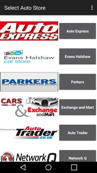 Shop Used Cars in UK poster