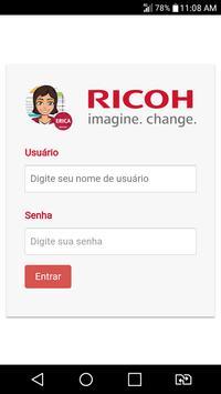 RICOH Erica poster