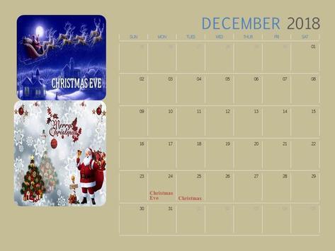 Calendar 2018 India screenshot 3