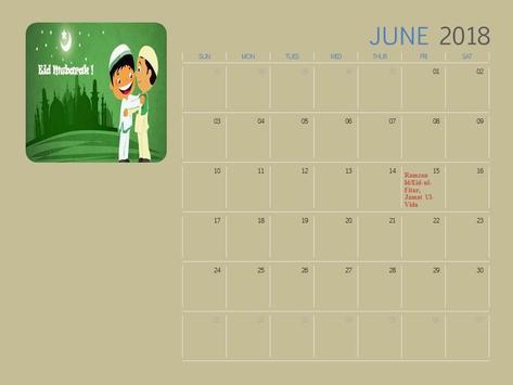 Calendar 2018 India screenshot 1