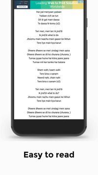 yo! yo! honey song lyrics free, Hindi lyrics screenshot 2
