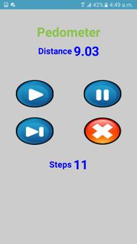 Pedometer Count Steps & Calculate distance screenshot 1