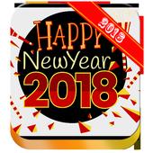 Happy New Year 2018 | Hindi icon