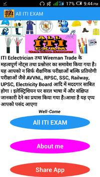 All ITI EXAM poster