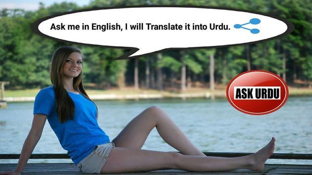 Girl Urdu Assistant and Translator poster